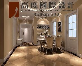 二居 美式 田园 餐厅图片来自高度国际设计严振宇在K2百合湾两居室美式田园风格的分享