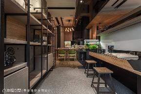 三居 工业 书房图片来自幸福空间在现代小木屋 139平创意工业精品宅的分享