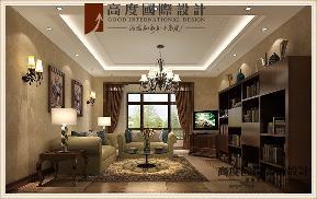 三居 美式 客厅图片来自高度国际设计严振宇在鲁能七号院溪园135平米美式风格的分享