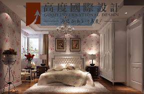 二居 美式 田园 卧室图片来自高度国际设计严振宇在K2百合湾两居室美式田园风格的分享