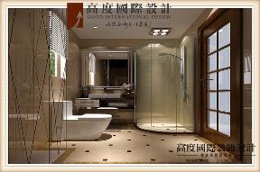 三居 美式 卫生间图片来自高度国际设计严振宇在鲁能七号院溪园135平米美式风格的分享