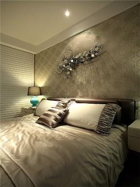 美式 三居 80后 小资 大户型 简美 白领 卧室图片来自高度国际姚吉智在148平米清新简美三居简而不凡的分享