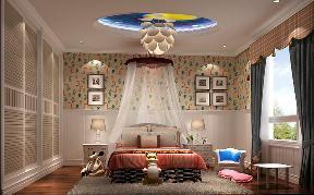 别墅 混搭 卧室图片来自高度国际设计严振宇在丹麦小镇独栋别墅混搭风格的分享