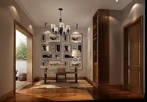 别墅 混搭 书房图片来自高度国际设计严振宇在丹麦小镇独栋别墅混搭风格的分享