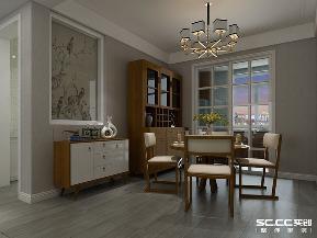 四居 新中式 实创 卓越 皇后道 餐厅图片来自实创装饰小彩在卓越皇后道131平4室2厅2卫新中式的分享