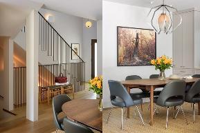 泷悦长安 简约 简美风格 别墅 餐厅图片来自别墅设计师杨洋在色彩跳跃,简美风格-泷悦长安的分享