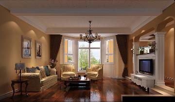 清凉盛景五室两厅简欧风格