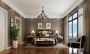 简约 美式 四居 卧室图片来自高度国际设计严振宇在果岭classs190平米简约美式风格的分享