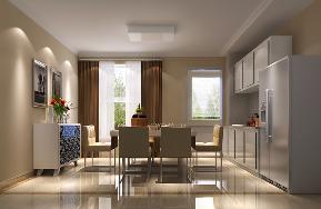 欧式 三居 餐厅图片来自高度国际设计严振宇在K2百合湾三室户简欧风格的分享