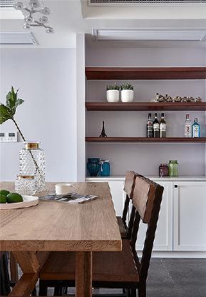 餐厅图片来自家装大管家在100平北欧时尚3居 高颜值的舒适的分享