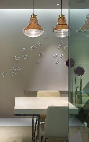 简约 三居 餐厅图片来自极装吉住装修在强佑新城140平简约风格实景赏析的分享