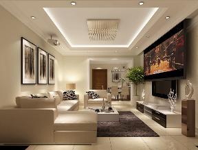 简约 现代 客厅图片来自高度国际设计严振宇在华业东方玫瑰90平米现代简约风格的分享