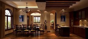 美式 古典 别墅 餐厅图片来自高度国际设计严振宇在天竺新新家园美式新古典风格的分享