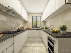 简约 现代 二居 小资 厨房图片来自阳光力天装饰在力天装饰-奥莱城-109㎡-简约2的分享