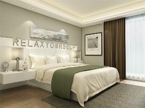 简约 现代 二居 小资 卧室图片来自阳光力天装饰在力天装饰-奥莱城-109㎡-简约2的分享