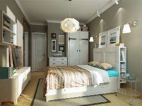 简约 现代 三居 收纳 小资 卧室图片来自阳光力天装饰在力天装饰-中保楼-102㎡-简约的分享
