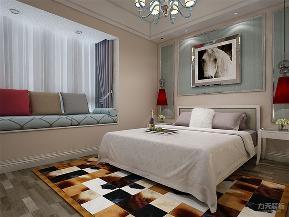 混搭 二居 收纳 小资 卧室图片来自阳光力天装饰在力天装饰- 天房美域-98㎡-混搭的分享
