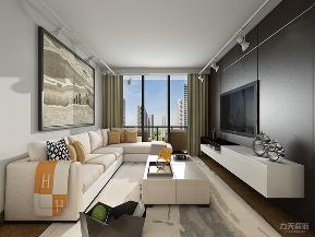 简约 现代 三居 收纳 小资 客厅图片来自阳光力天装饰在力天装饰-中保楼-102㎡-简约的分享