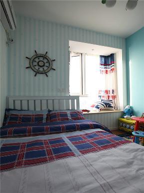 简约 三居 公寓 80后 小资 白领 儿童房图片来自高度国际姚吉智在130平米现代简约三居蓝精灵的分享