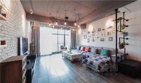复式 客厅图片来自金煌装饰有限公司在时尚个性张扬的Loft风格的分享
