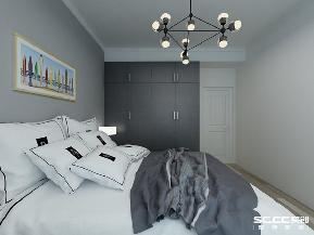 三居 鲁润静园 实创 简约 白领 卧室图片来自实创装饰小彩在鲁润静园138.76平B-1户型简约的分享