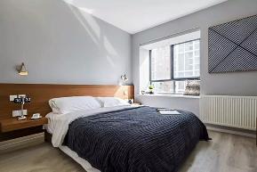 简约 二居 白领 80后 卧室图片来自极装吉住装修在99㎡现代简约风,被朋友赞爆了~的分享