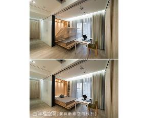 二居 现代 书房图片来自幸福空间在破除隔间迷思 89平空间更好住的分享