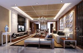 三居 客厅图片来自深圳浩天装饰在浩天装饰星河盛世-现代中式的分享
