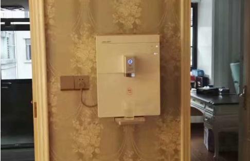 管线饮水机安装效果图