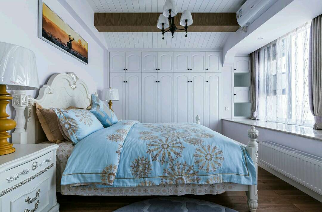 简约 欧式 田园 混搭 二居 别墅 白领 收纳 旧房改造 卧室图片来自名星装饰在正堂山外山的分享