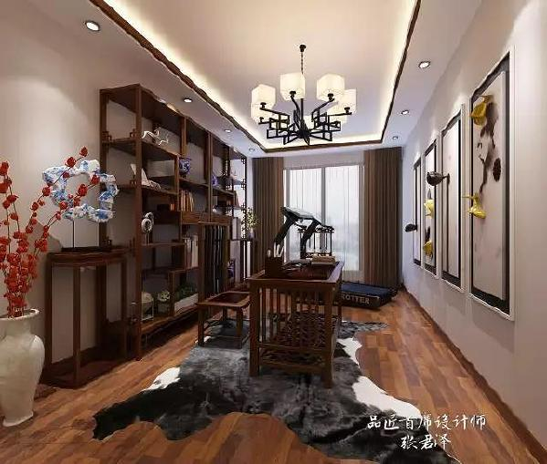 室内多采用对称式的布局方式,格调高雅,造型简朴优美,色彩浓重而成熟。