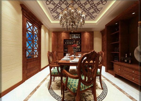 换个角度,来开椅子,整个空间立即显现一种灵动感。可以进行比较高规格的晚宴,邀请朋友一起共享晚餐。