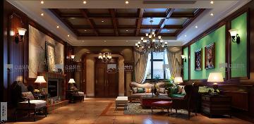 香逸澜湾-美式风格-别墅设计