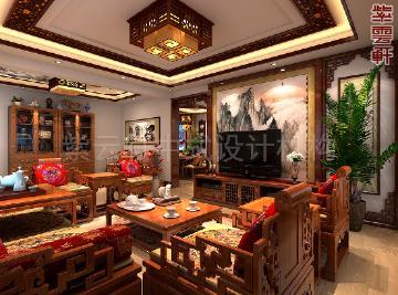 北京古典中式别墅装修实例