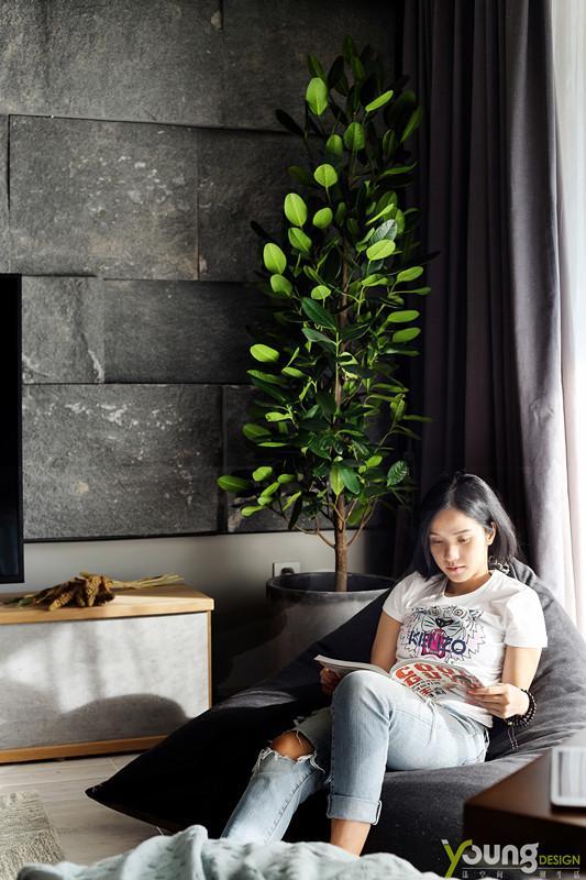 【深圳漾空间设计有限公司】漾设计Young Design——阳光慵懒地洒在身上,仿佛能觉出幸福的温度。