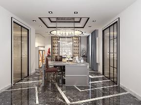 简约 混搭 白领 收纳 80后 小资 厨房图片来自圣奇凯尚室内设计工作室在圣奇凯尚装饰-后现代风格280平的分享