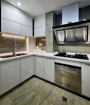 简约 现代 智能 科技感 高级感 厨房图片来自VK国际设计在现代感十足的科技cool宅的分享