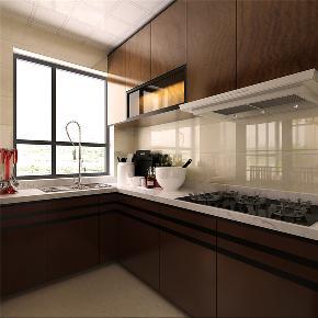 厨房图片来自东大家居设计在幸福城150平装修的分享