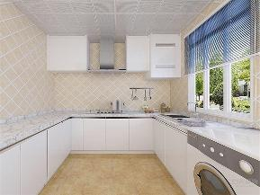 简约 现代 三居 收纳 小资 厨房图片来自阳光力天装饰在力天装饰-海昌天阑-110㎡-简约的分享