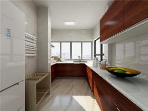 龙发装饰 贻欣园 现代简约 三居 效果图 厨房图片来自龙发装饰天津公司在贻欣园三居现代简约风格的分享