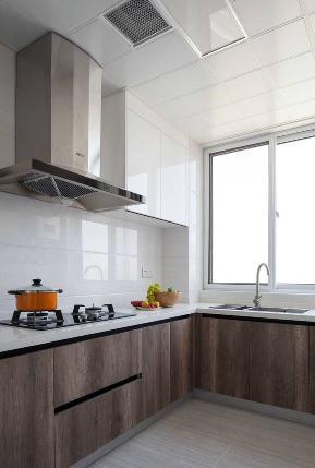 厨房图片来自今朝装饰张智慧在97㎡现代简约风格家居的分享