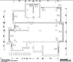 三居 鲁商 蓝岸丽舍 美式 小资 户型图图片来自实创装饰小彩在鲁商蓝岸丽舍168平现代美式的分享