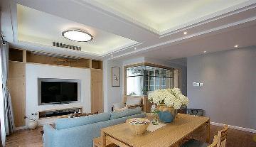 88平二室二厅 温暖原木自然混搭