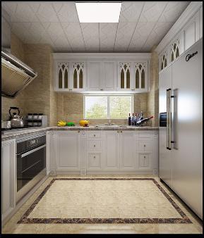 龙发装饰 南益 混搭 二居 装修效果图 厨房图片来自龙发装饰天津公司在南益名士华庭两居混搭风格案例的分享