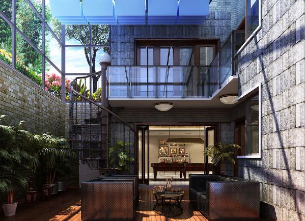 地下庭院设计