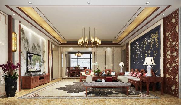 尚海郦景大平层户型装修设计方案展示,上海腾龙别墅设计作品,欢迎品鉴!