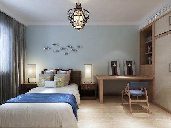 主卧位于房型的最靠里的地方具有良好的私密性,主卧有两个窗户,所以在采光,通风方面也不用担心。