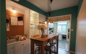 简约 田园 二居 现代 小清新 80后 餐厅图片来自小蜗置家装饰在青南美湾77.69㎡现代小清新的分享