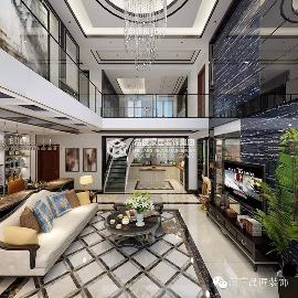 大观天下楼中楼奢华欧式装修风格
