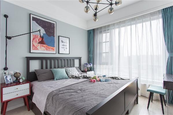 北欧 三居 温暖 浪漫 新手父母 卧室 卧室图片来自四川欢乐佳园装饰在图片
